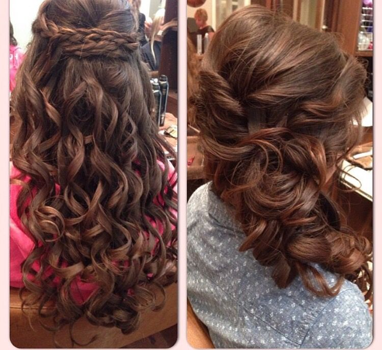 Wedding Hair Bridal Style Half Updo Soft Style Updo Formal
