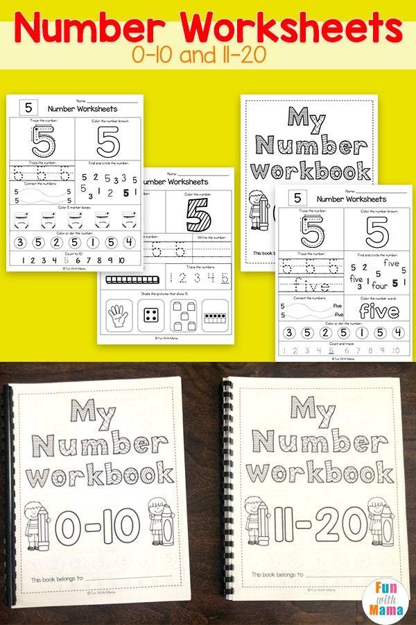 Number Worksheets 1-10 | Number worksheets, Counting ...
