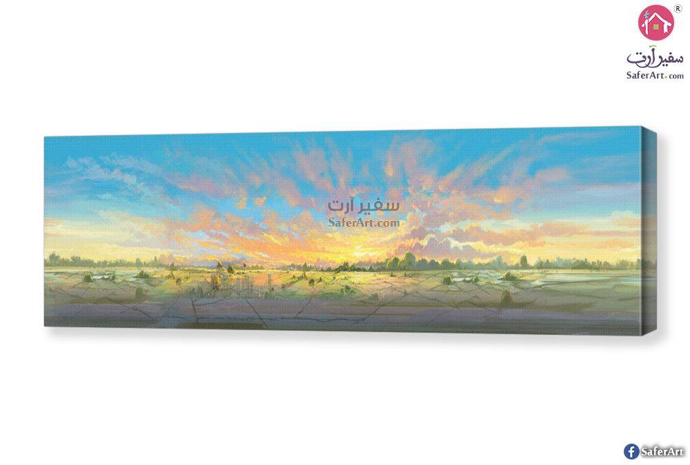 لوحه منظر طبيعي سفير ارت للديكور Landscape Paintings Landscape Painting