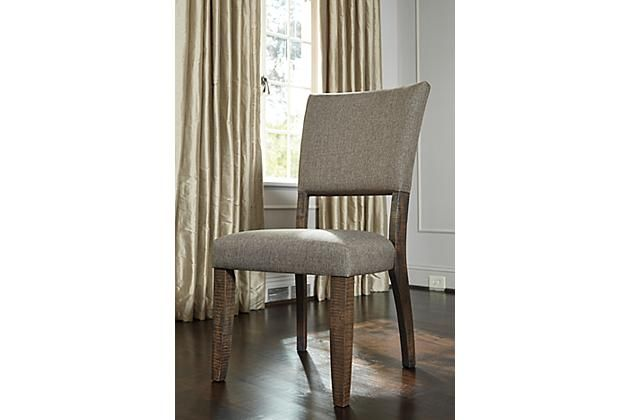 Gray Strumfeld Dining Room Chair View 3 | Cheap dining ...