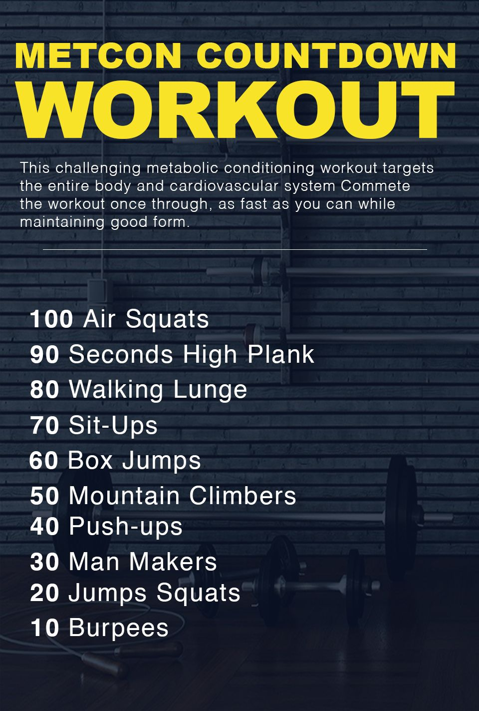 Pin On Crossfit Workouts
