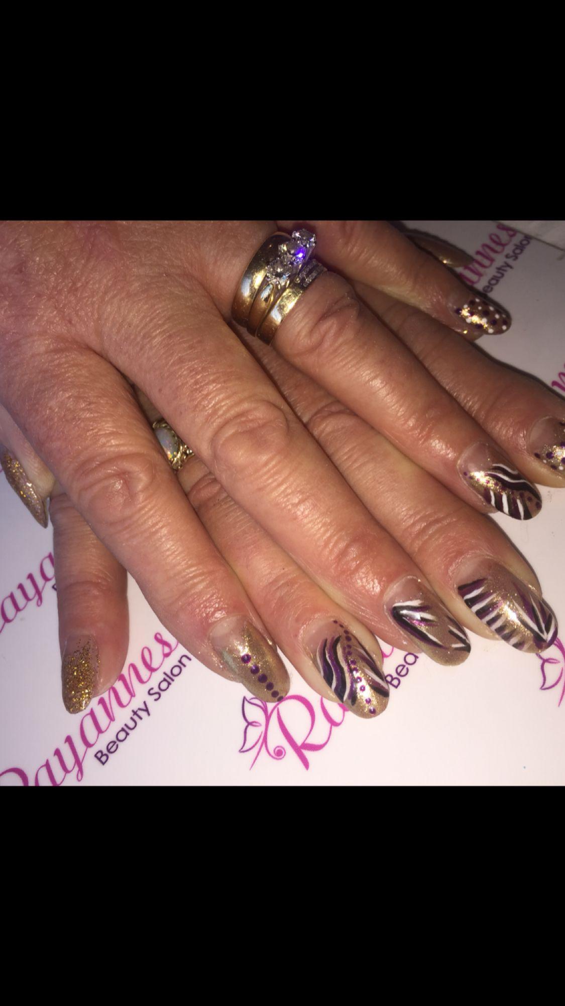 Rayannes Beauty Salon Nails, Class ring, Beauty salon
