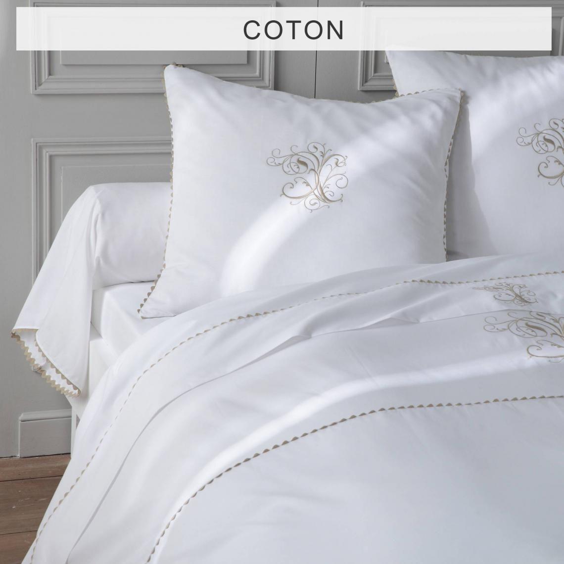 Housse De Couette Pur Coton Ma Bouchara Collection Blanc 3 Suisses 2020