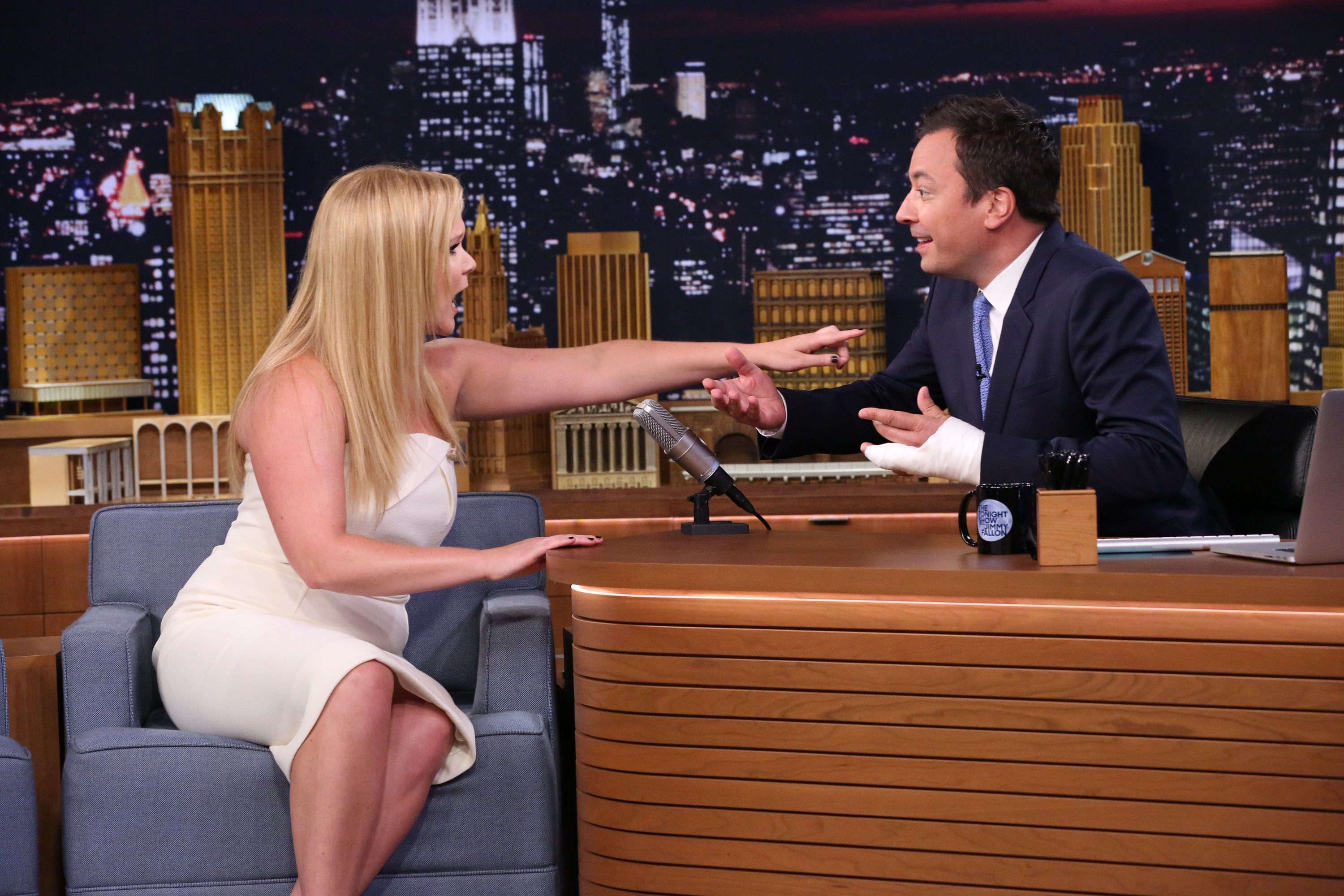 Amy Schumer Nua pin on the best of tv