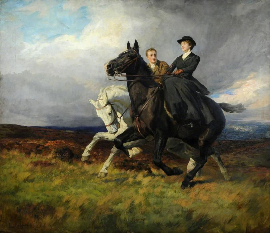 Quot The Riders 1911 Quot By Lucy Kemp Welch Lucy Kemp Welch