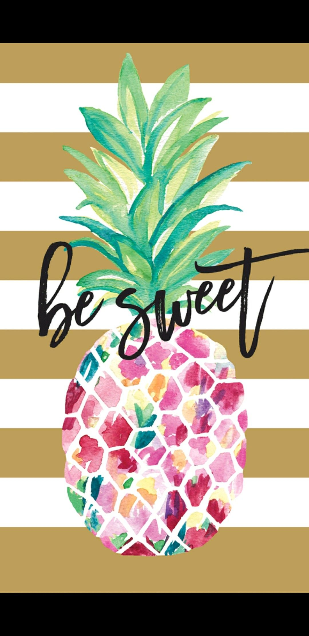 Pin By Babe On Yummy Wallpapers Pineapple Wallpaper Wallpaper Iphone Summer Iphone Wallpaper