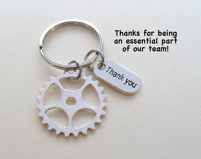 Employee Appreciation Gift Keychain, Puzzle Charm Keychain, Employee Gift, Coworker Gift, Work Team Gift, Thank you Gift, Teacher Gift #employeeappreciationideas