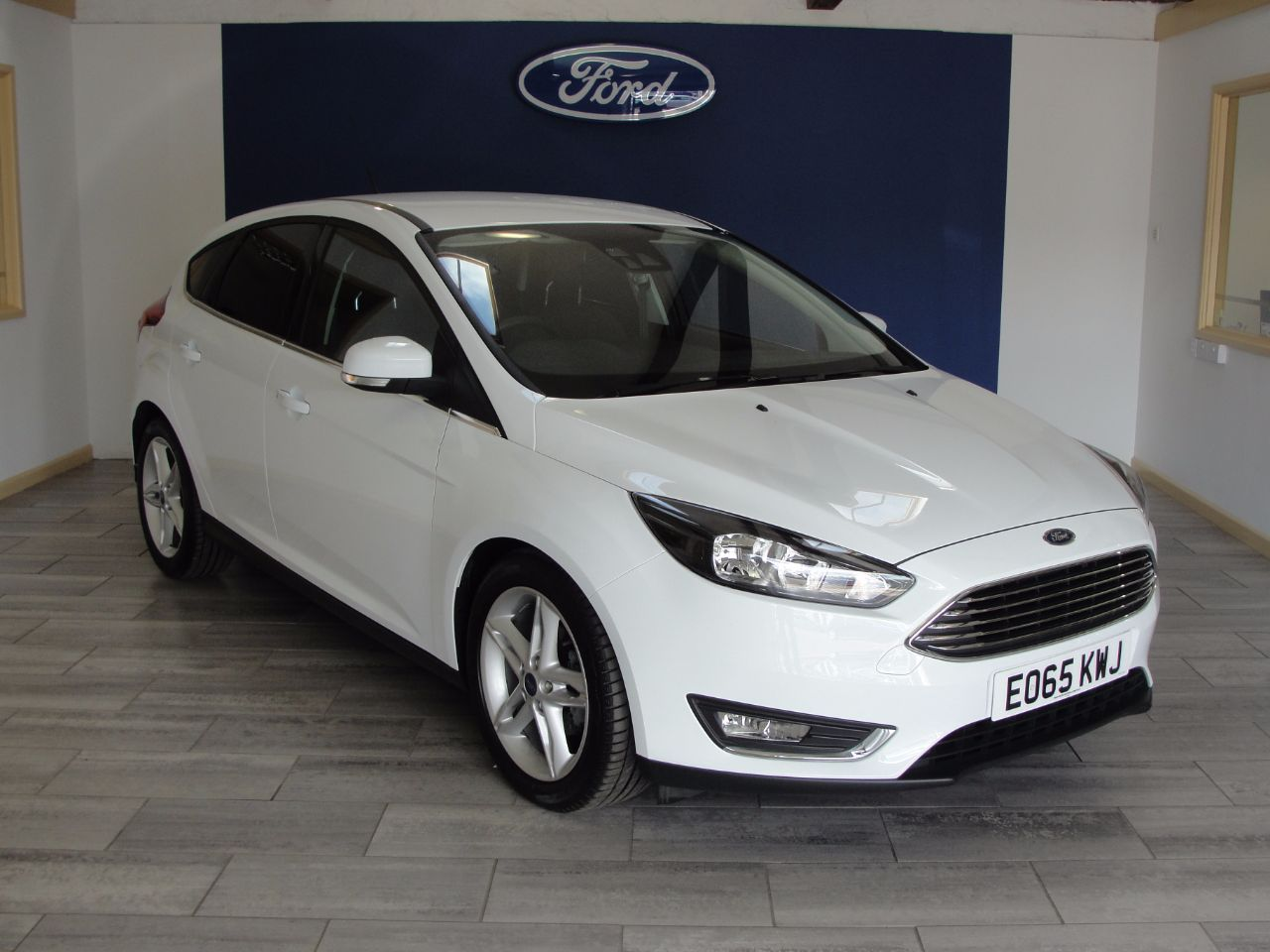 Used Ford Focus 1 0 Ecoboost 125 Titanium 5dr For Sale In Newton