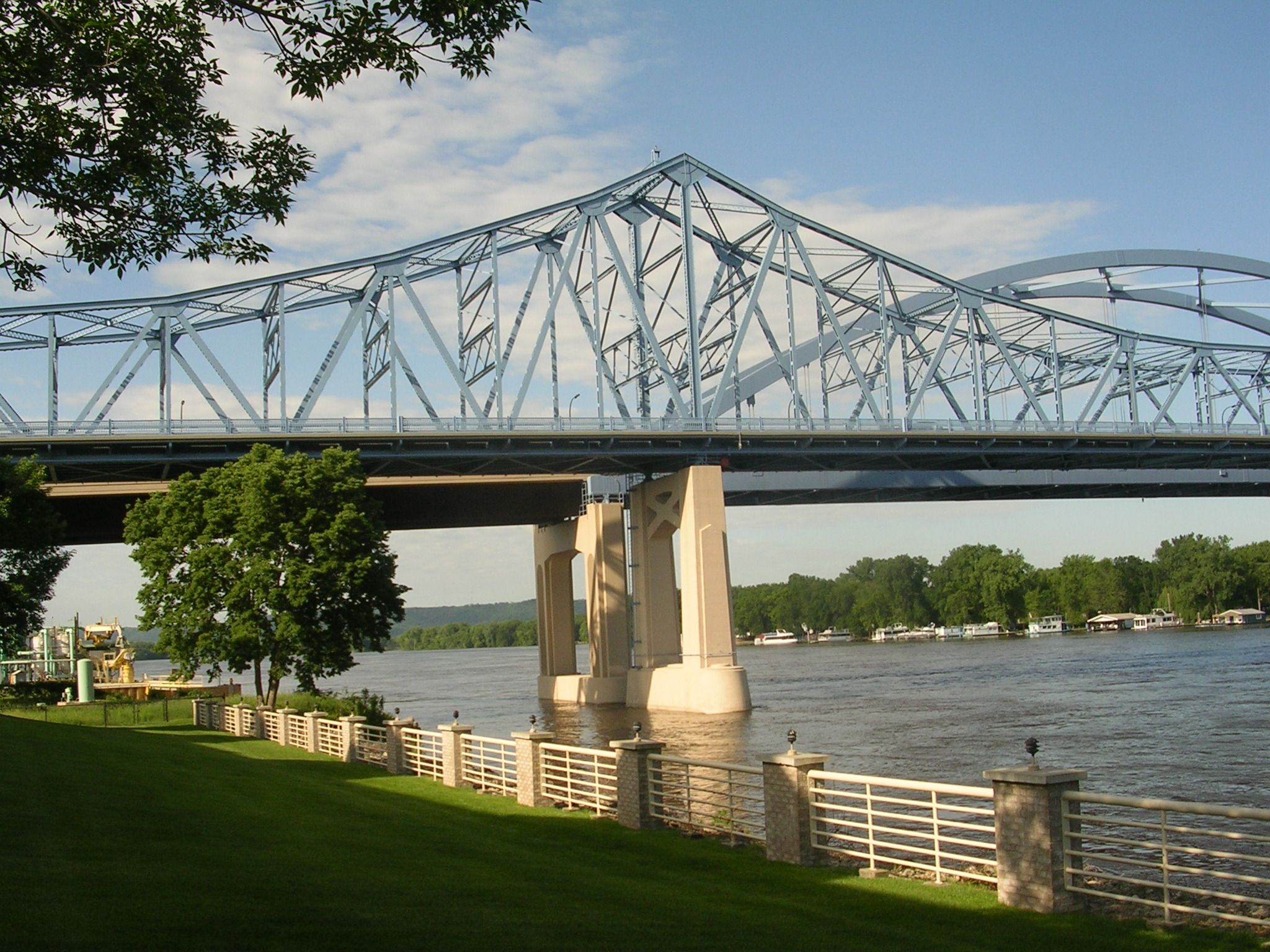 La Crosse, WI - My birthplace. Thank you for staying beautiful LaCrosse. Always proud to say I was born there.