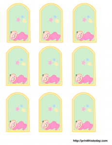 Free girl baby shower favor tags party ideas baby showers you can get cute free printable baby shower favor tags on this page for girl or boy baby shower negle Gallery