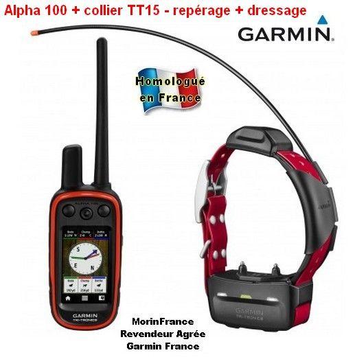 Garmin Alpha 100 Collier De Repérage Gps T5 Ou Tt15 Pour