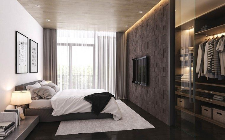 Cabina Armadio Camera Da Letto.100 Ideas Modern Bedrooms Design And Inspiration For A Dream