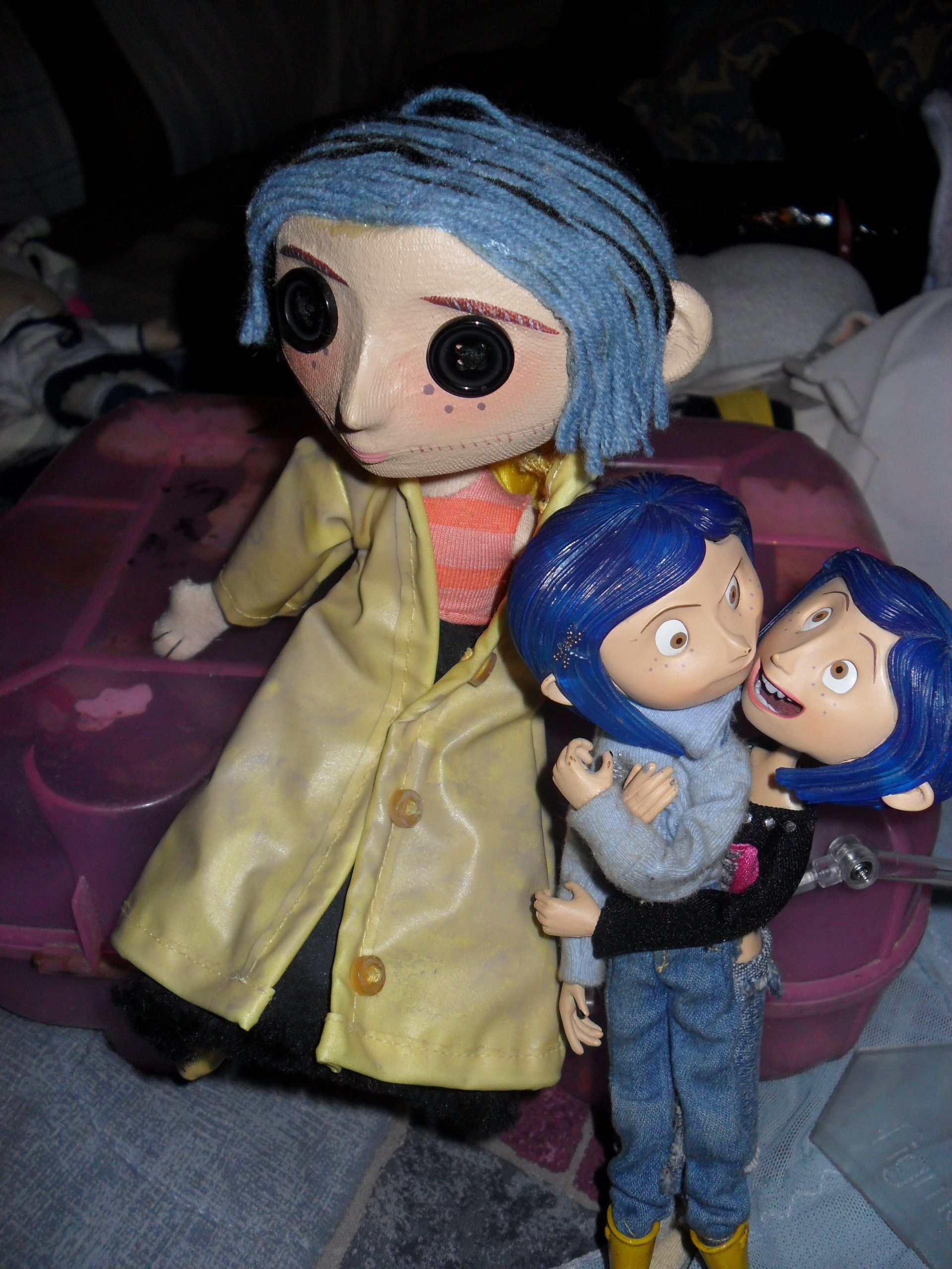 Coraline Photo My Coraline S Stuff Xd Coraline Coraline And Wybie Coraline Doll