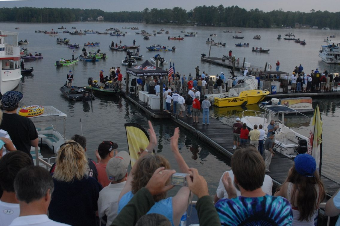 The 2014 Walmart FLW Tour culminates at Lake Murray in Columbia, S.C. with the Forrest Wood Cup Aug. 14 - 17. In 2008 Michael Bennett became an instant millionaire when he beat second place Kellogg's Frosted Flakes pro Dave Lefebre by over 5 pounds.