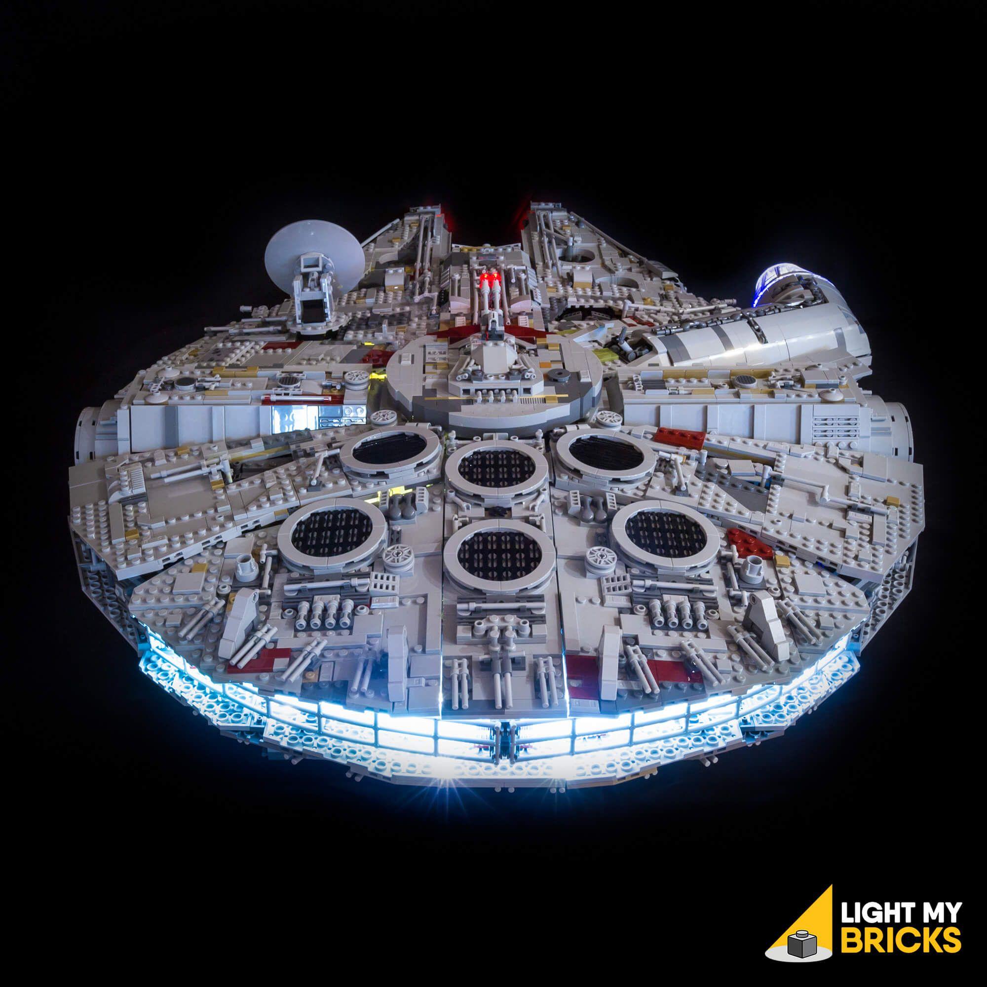 Lego Star Wars Ucs Millennium Falcon 75192 Light Kit Lego Ucs Lego Lighting Millennium Falcon Lego