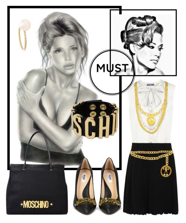 """""""Black White Gold"""" by sukia ❤ liked on Polyvore featuring Behance and Sophie Bille Brahe"""