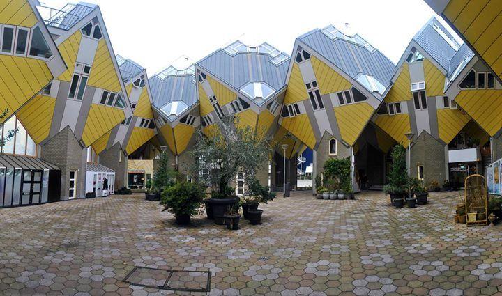 Conoces las casas cubo de Rotterdam? Edificios inusuales