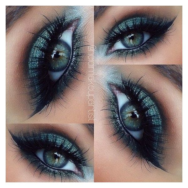 How to Apply Eye Makeup ❤ liked on Polyvore featuring beauty products and makeup