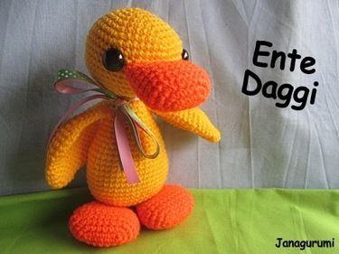 Amigurumi Patterns For Sale : Pattern for sale amigurumi duck amigurumi
