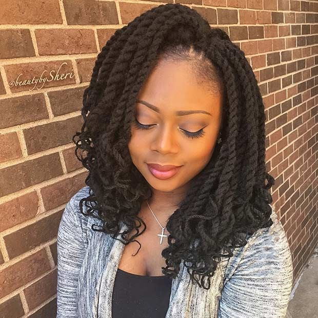 31 Stunning Crochet Twist Hairstyles   Pinterest   Crochet twist ...