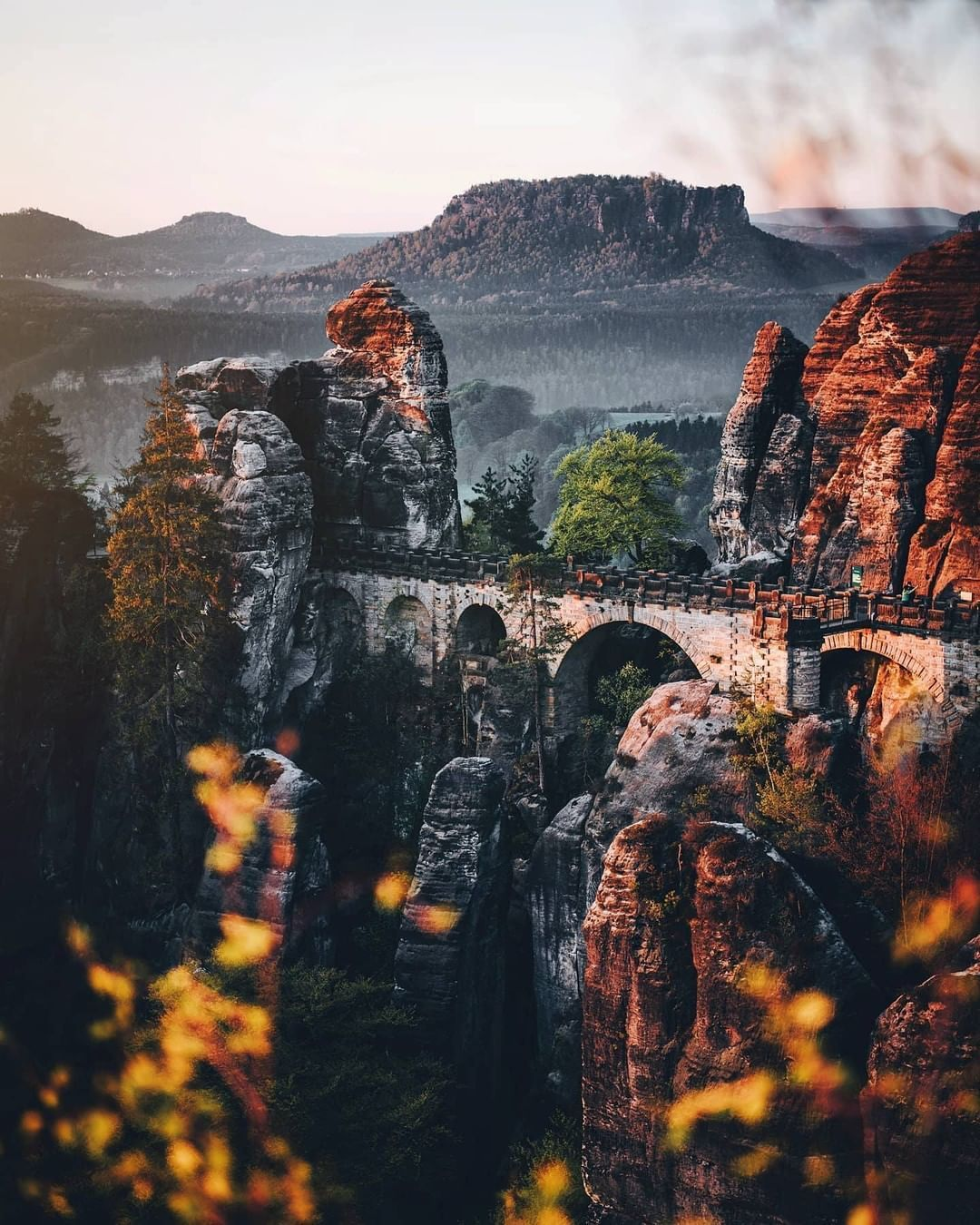 Voyaged By 9gag On Instagram The National Park Of Saxon Switzerland Is One Of The Most Beautiful Landscapes In Europe And Offers Endless Ways To Spend Time Ou