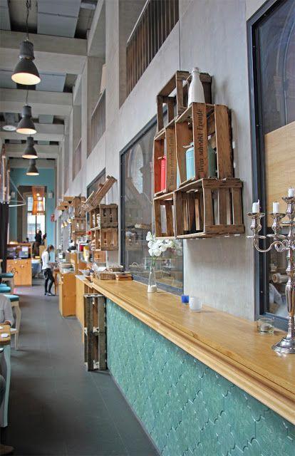 by anneliwest berlin frankfurt frohsein caf restaurant interiors pinterest. Black Bedroom Furniture Sets. Home Design Ideas