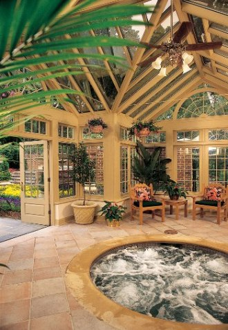 6 Beautiful Backyard Conservatories