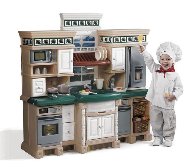 Step2 Duza Stylowa Interaktywna Kuchnia Akcesoria Kuchenne Https Brykacze Pl Nazwa 614 Html Wymar Play Kitchen Sets Kids Play Kitchen Kitchen Sets For Kids