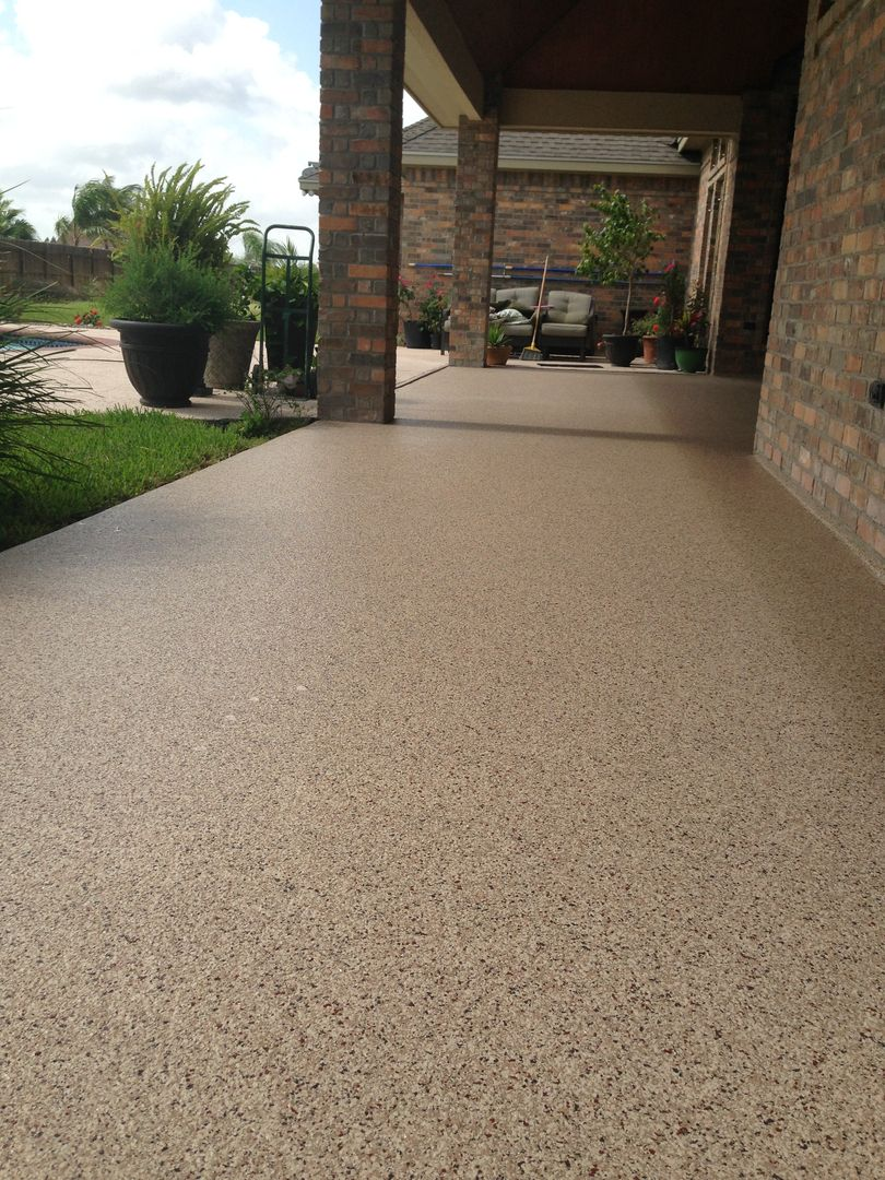 garage floor epoxy patio flooring