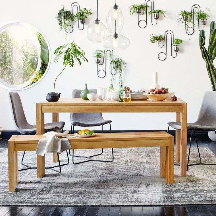Table salle à manger design rustique en 42 idées originales Future