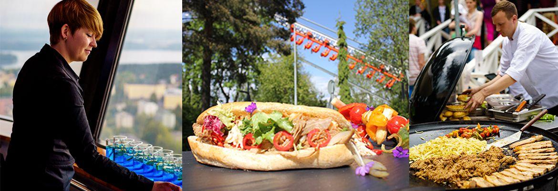 Näsinneulan ravintoloihin haetaan kesätyöntekijöitä. http://www.sarkanniemi.fi/tyopaikat/ravintola-nasinneulan-kesatyontekijat/