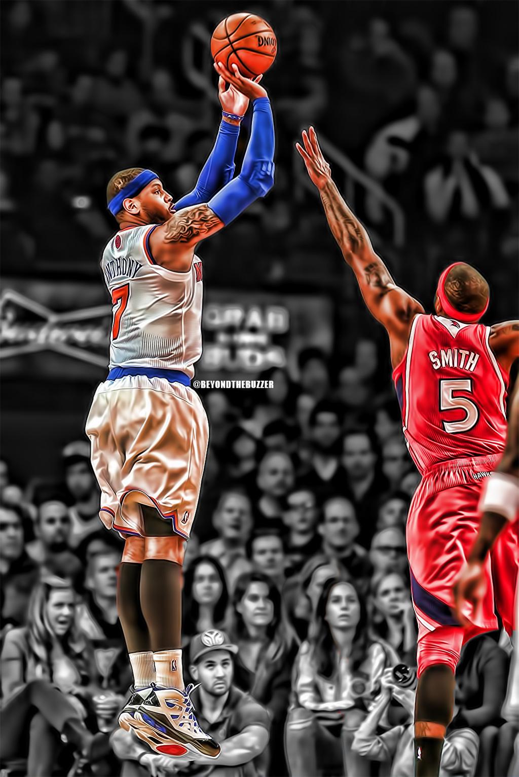 Carmelo Anthony (Knicks vs Hawks)