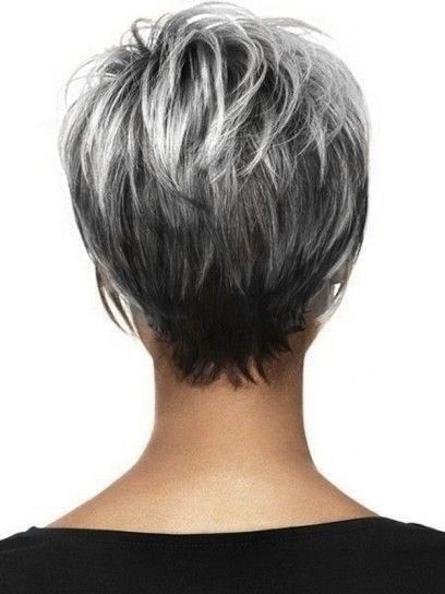 Photo of Short hair with gray hair – #grey hair #grey #hair #hair #short #with