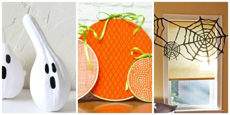 15 Last-Minute Halloween Decorations You Can Make in a Flash - cool halloween decorations you can make