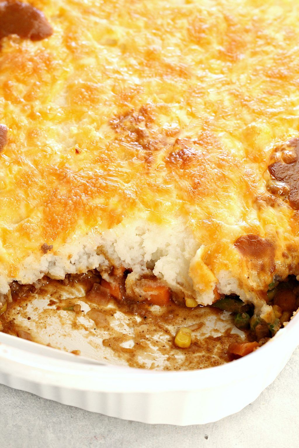 Easy Ground Beef Shepherd S Pie Recipe Shepherds Pie Shepherds Pie Recipe Cottage Pie Easy