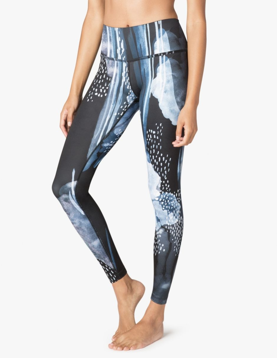 34da373979 Betsey Johnson Performance Printed Mesh Trim 7/8 Yoga Leggings at  YogaOutlet.com - Free Shipping | 2018 Wishes | Yoga leggings, Spring  outfits women casual, ...