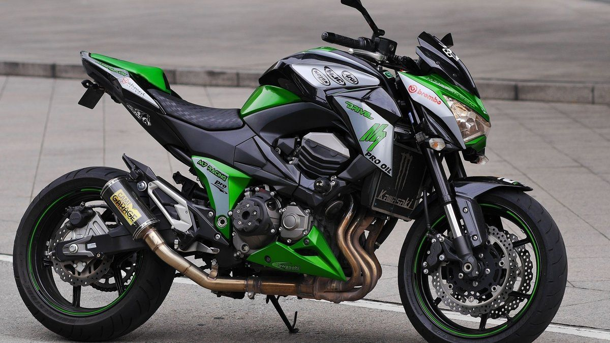 Обои Kawasaki, Мотоцикл, z800. Мотоциклы foto 6