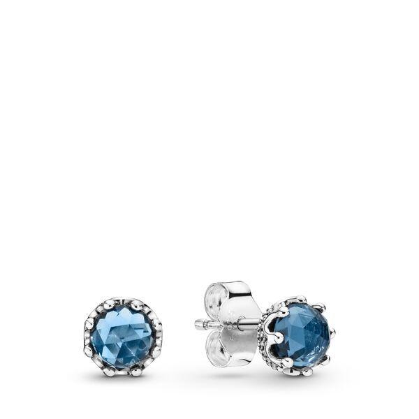 orecchini blu pandora