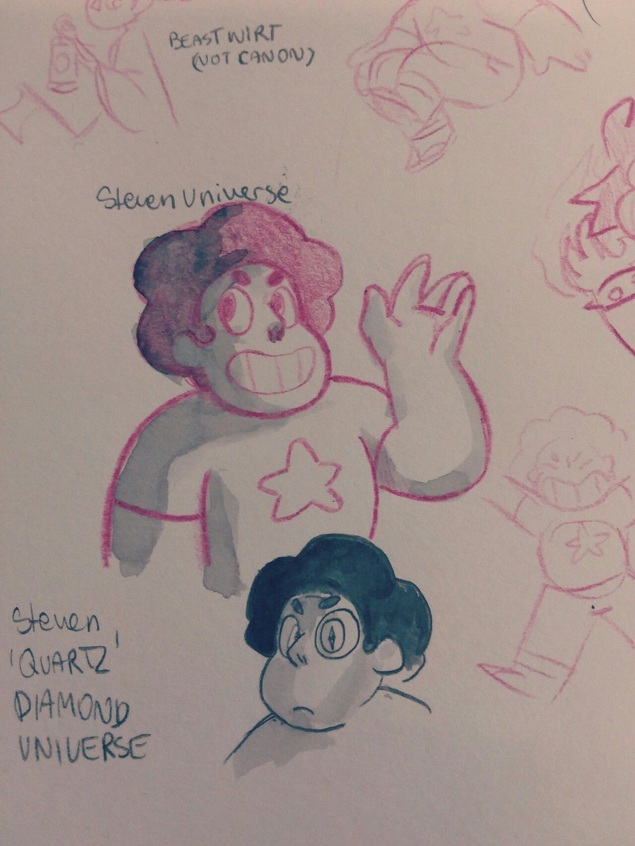 Pin By Chloee On Steven Universe Steven Bad Prediction Au