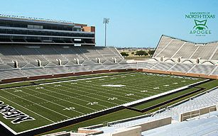 Football Field Unt College Experience University Of North Texas Football Field