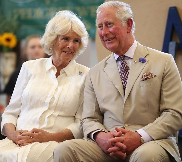 The Prince of Wales and Duchess of Cornwall visited Wales #visitwales The Prince of Wales and Duchess of Cornwall visited Wales