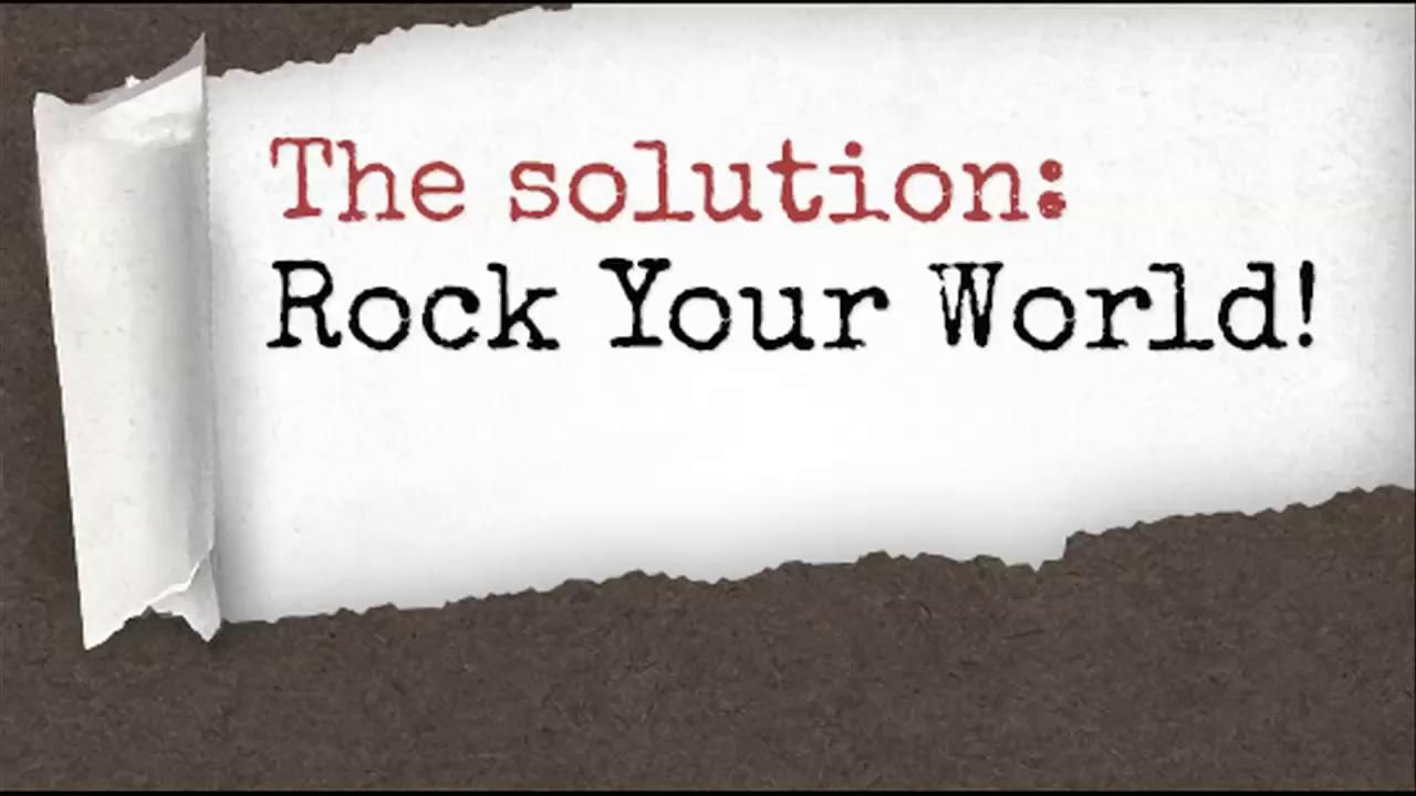 Rock Your World. Creative Visions Foundation presents the