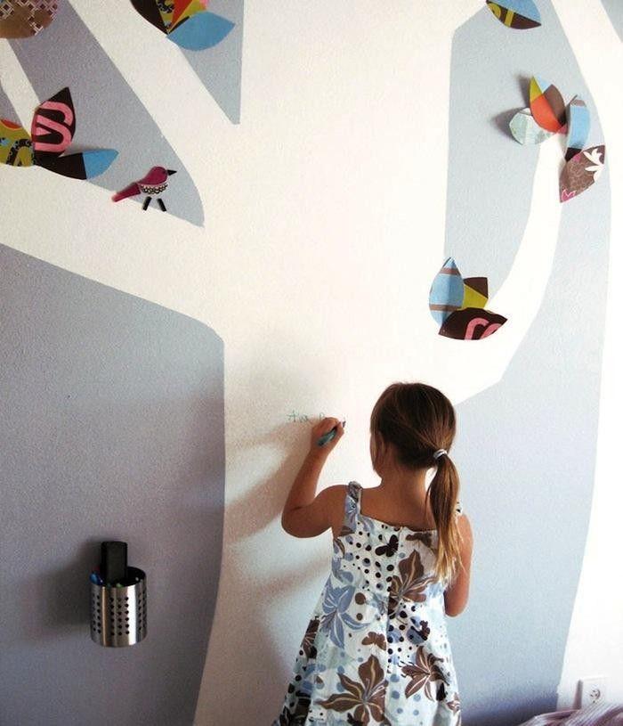 White-Board-Paint-Tree-Wall