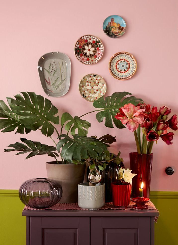 24 Inspirational ideas with plates on wall   Walls, Wall spaces and ...
