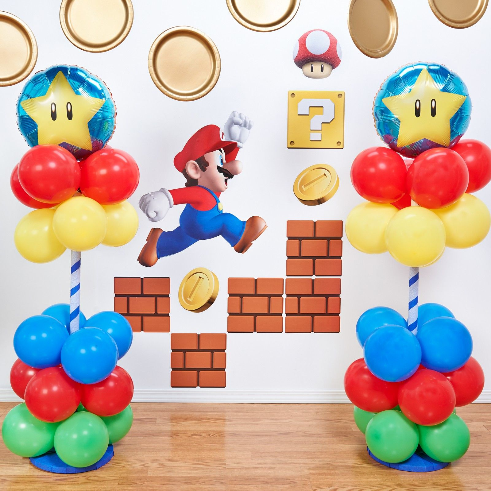 DIY Video Game Room Decor Mario Bros in Pinterest