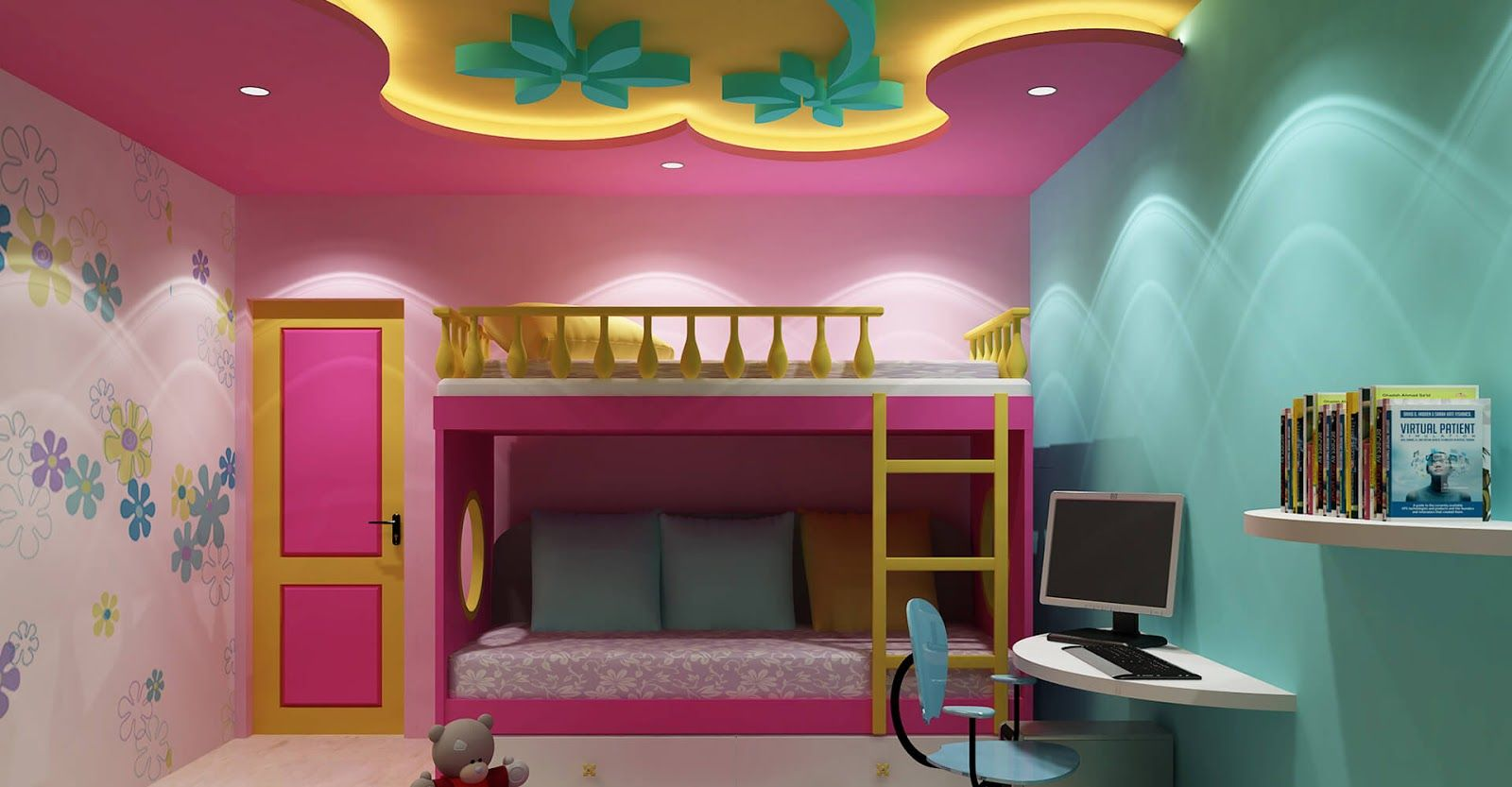 Beautiful False Ceiling Design For Kids Bedroom Interior 2018 Stretch Ceilings In Our Country Are Incredibly Por A Room