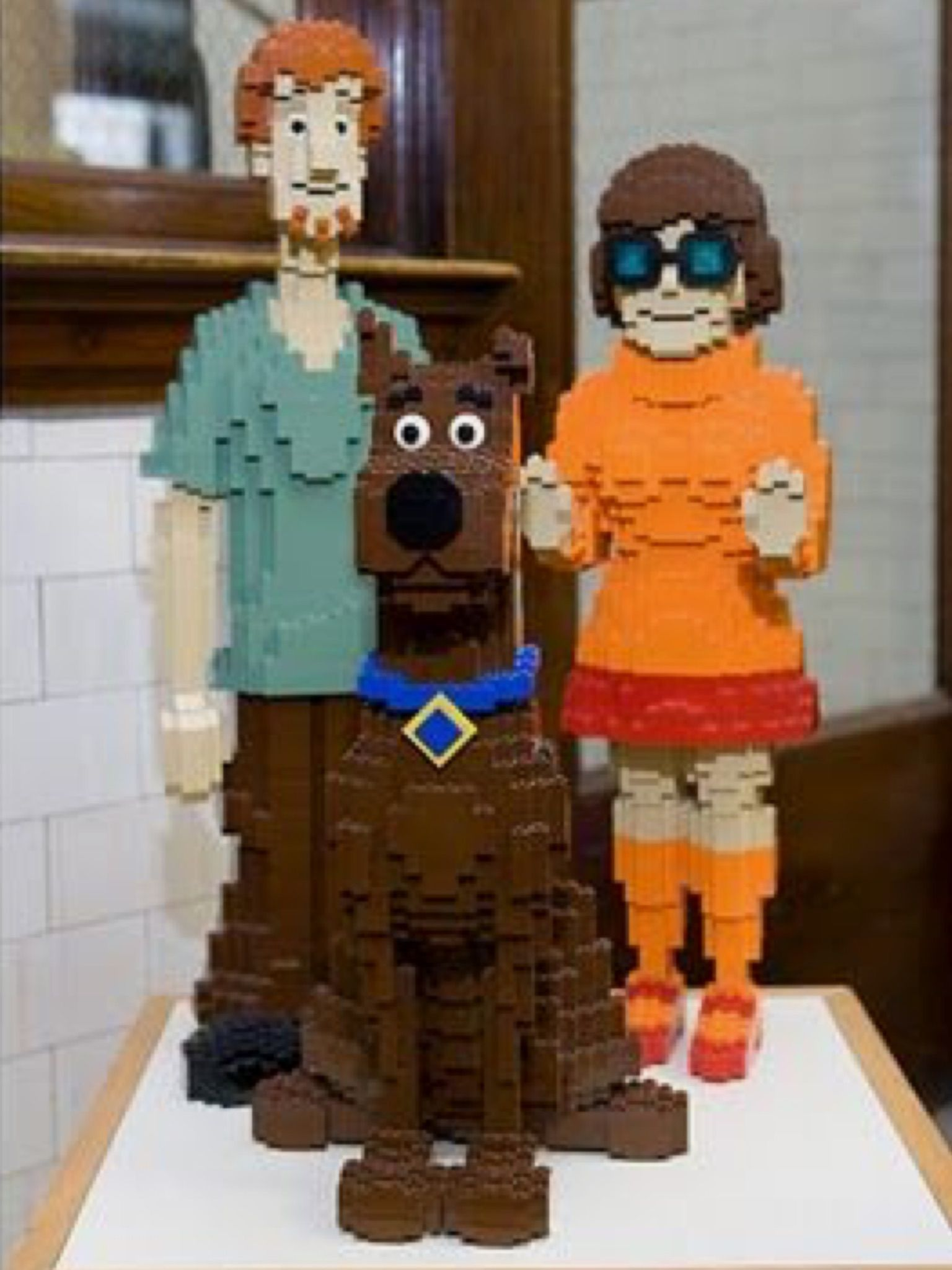 Scobby Doo Lego Awesome Scooby Dooby