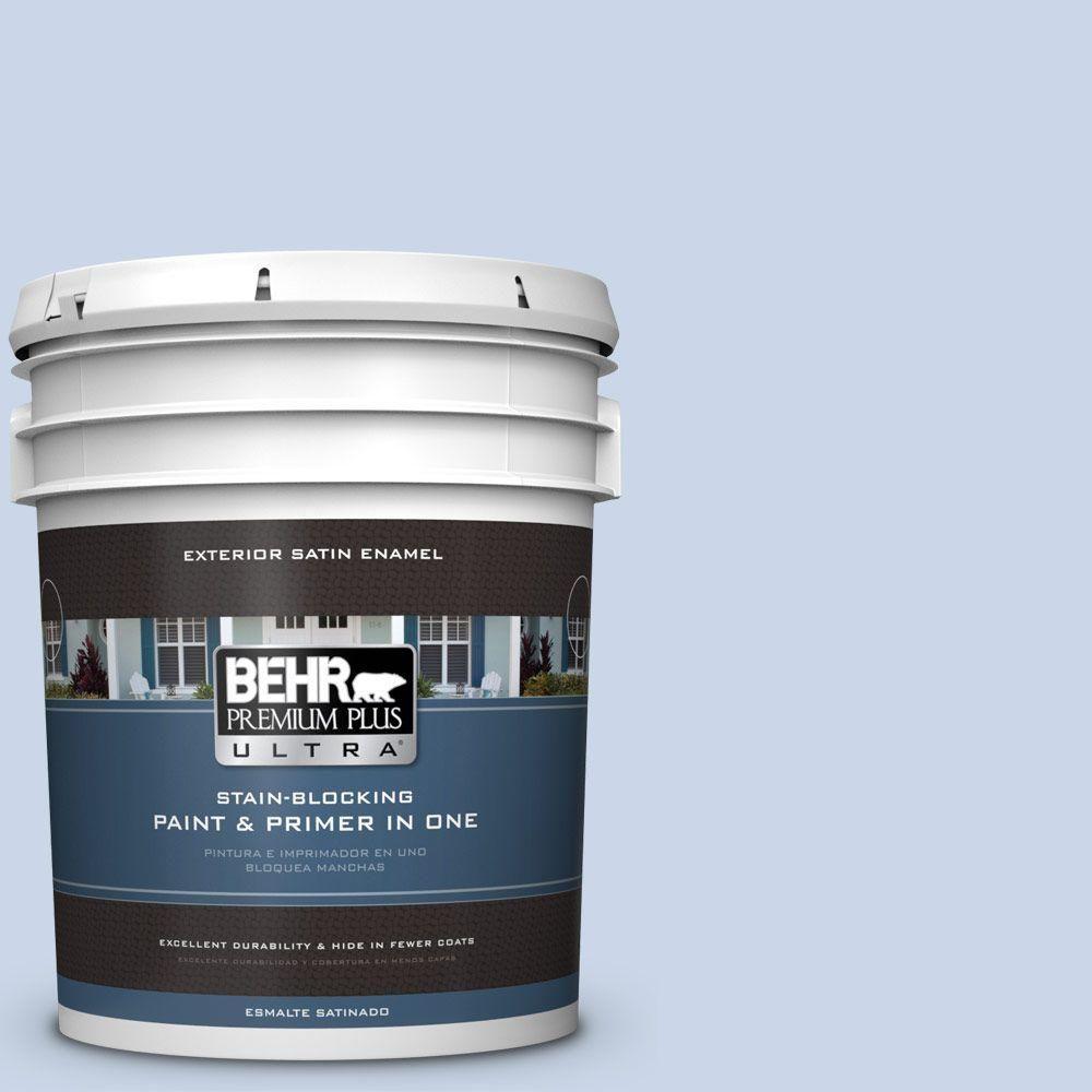BEHR Premium Plus Ultra 5-gal. #580C-2 Lively Tune Satin Enamel Exterior Paint
