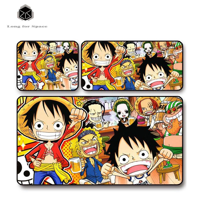 SJLUHS One Piece 5 Mouse Pad Cartoon Oversized Game Table Pad Lock Edge  Free Shipping