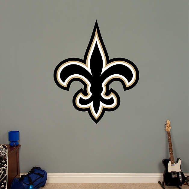 New Orleans Saints Logo. Nfl NewsNew Orleans SaintsWall Decals & New Orleans Saints Logo | Wall decals Saints and Logos
